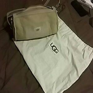 Ugg barrel shape bag